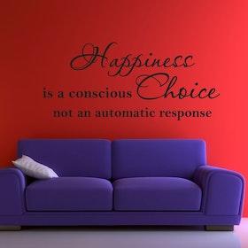 Väggord - Happiness, Choice