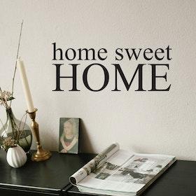 Väggord - Home sweet home