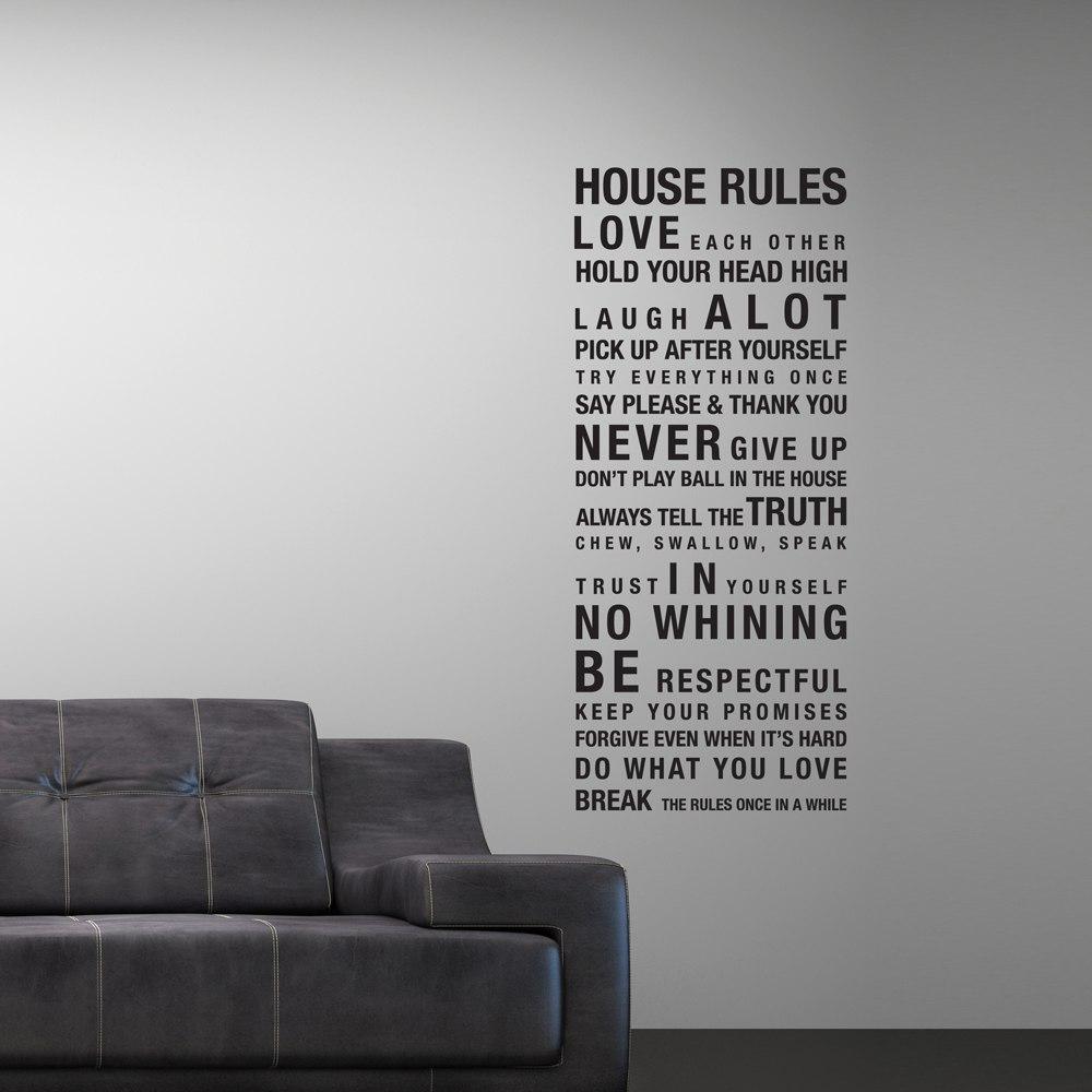 Väggord - House Rules (Bård)