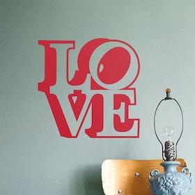 Väggord - LOVE