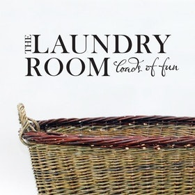 Väggord - The Laundry Room loads of