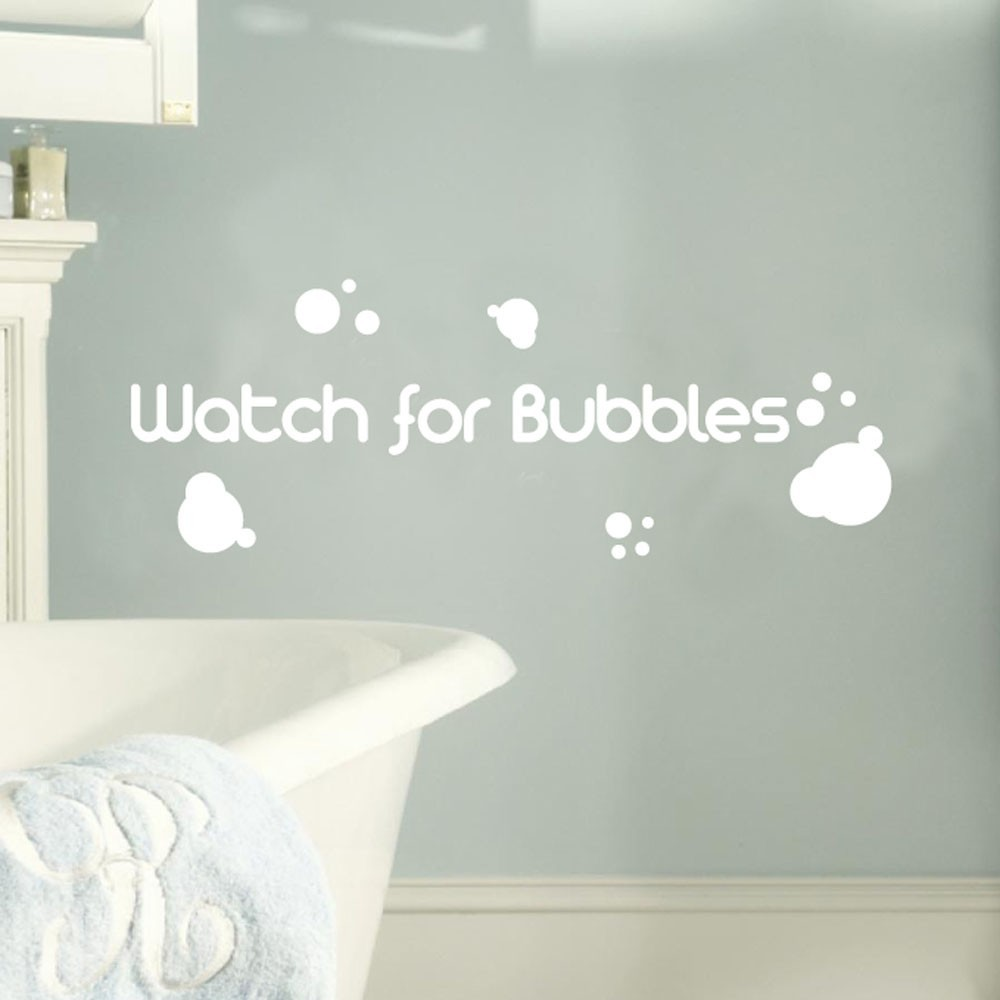 Väggord - Watch for Bubbles