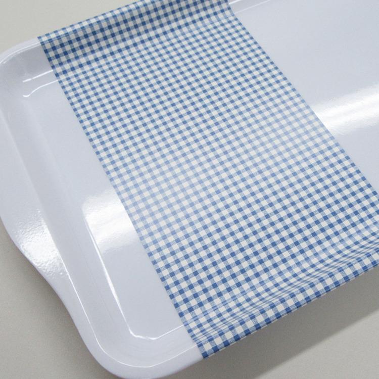 Dekorplast - Blåa Rutor