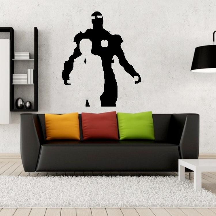 Väggdekor - Iron Man med Tony Stark