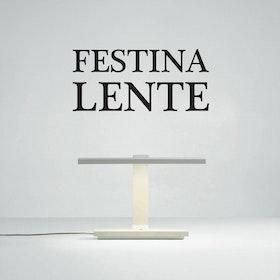 Väggord - Festina Lente