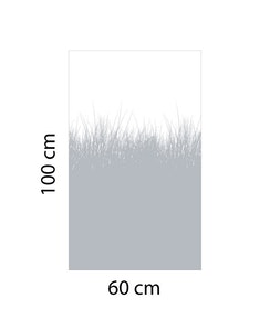 Fönsterfilm Gräs 2 100x60cm