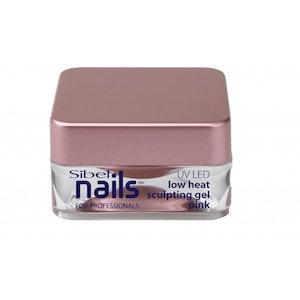 Gel UV / Led sculpturer pink low heat Sibel Nails 15m
