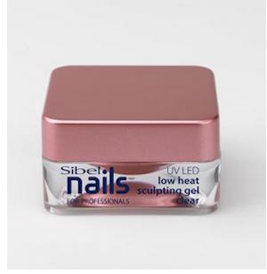 Gel UV / Led schulpting låg temperaturen clear Sibel Nails 15 ml