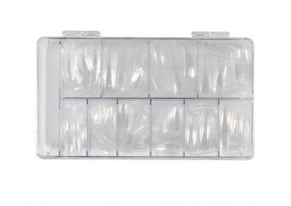 500 transparanta A-tippar i box