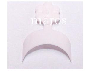 Franska vita mini tippar 100 st
