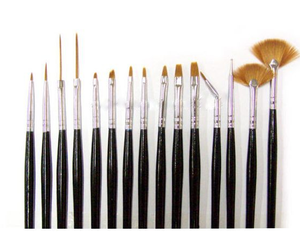 Penselset UV-gel & Acryl (15 penslar)