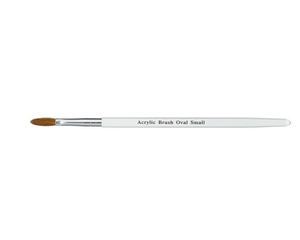 Akryl pensel Oval SMALL 28