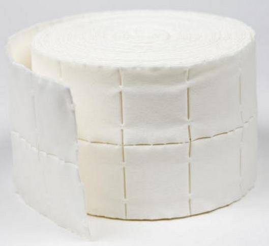 Nail Pads kosmetiska serveter 1x500pack (500 st)
