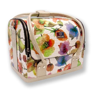 Beauty Case Blommotiv