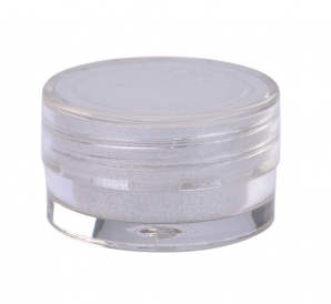 Sjöjungfrur pigment vit/silver | 3g