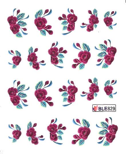 Nail stickers,  One Stroke Sticker  Välj