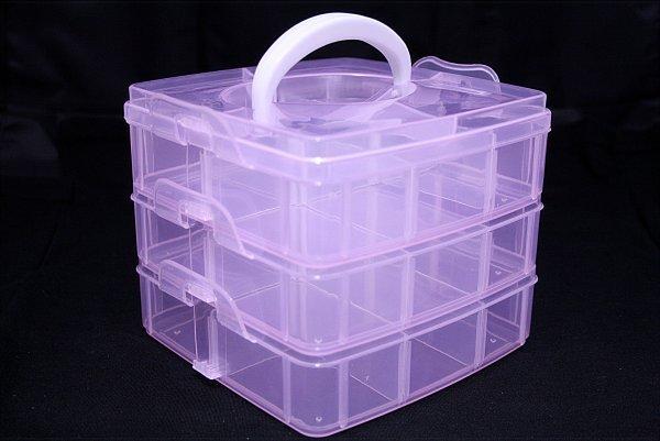 Box för tillbehör  rosa