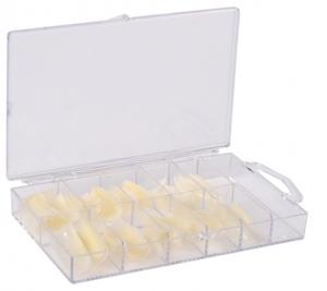 Ask för sorterad förvaring av lösnaglar/tippar  normal | 100 bit