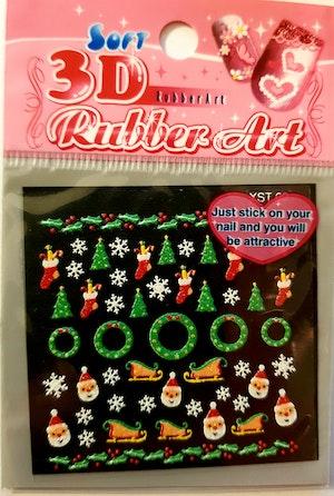 Jul nail-sticker