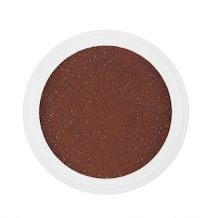Akrylpulver Glitter Dark Brown | 30 g
