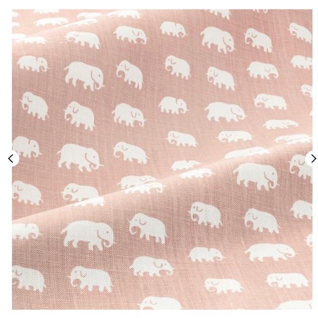 Elefant puderrosa 50x50