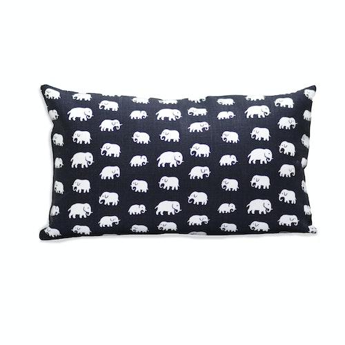 Elefant svart 30x50