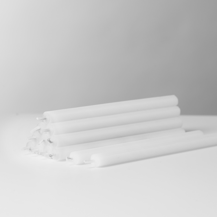 Stoff Nagel - Ljus 12-pack vit