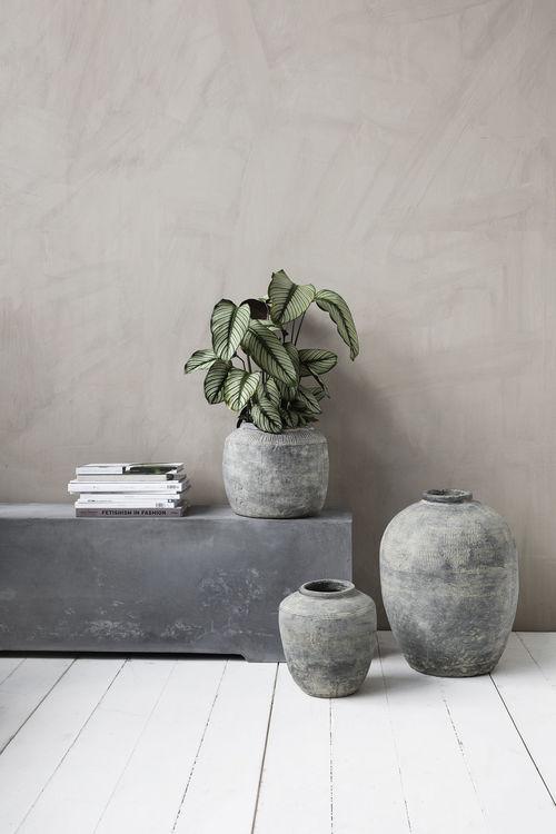 Vas rustik betong