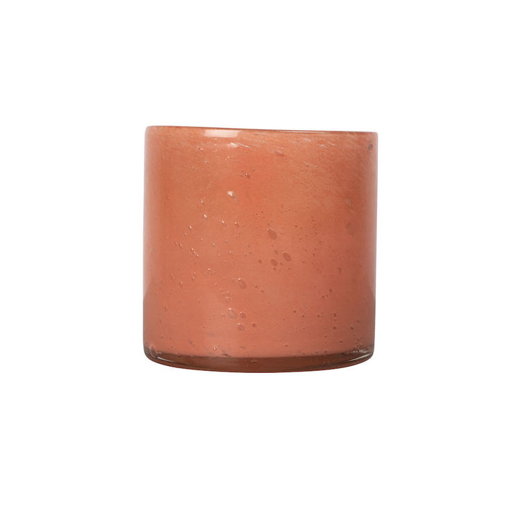 Vase/Candle holder Calore M Orange