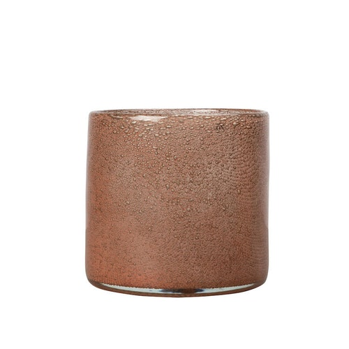 Vase/Candle holder Calore M Rusty red/Brown