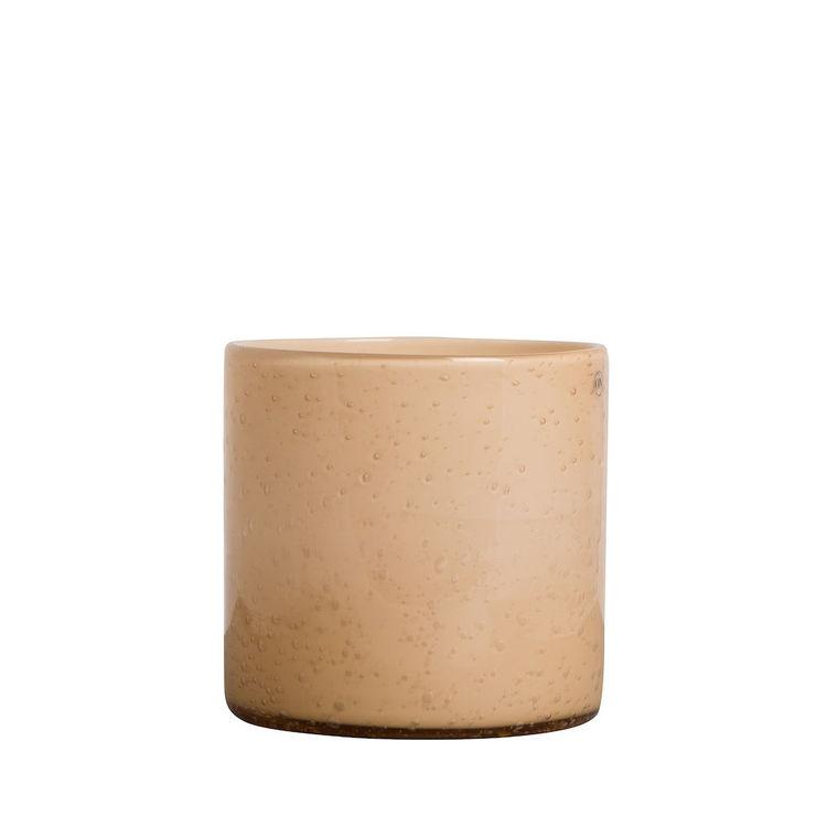 Vase/Candle holder Calore M Peach