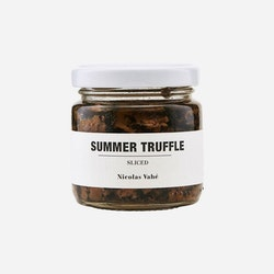 Sliced summer truffle