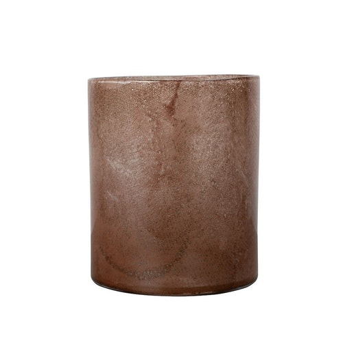 Vase/Candle holder Calore L Brown