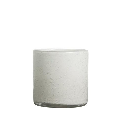Vase/Candle holder Calore M White