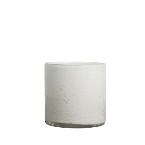 Vase/Candle holder Calore S White