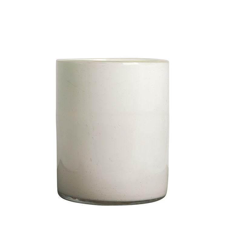 Vase/Candle holder Calore L White