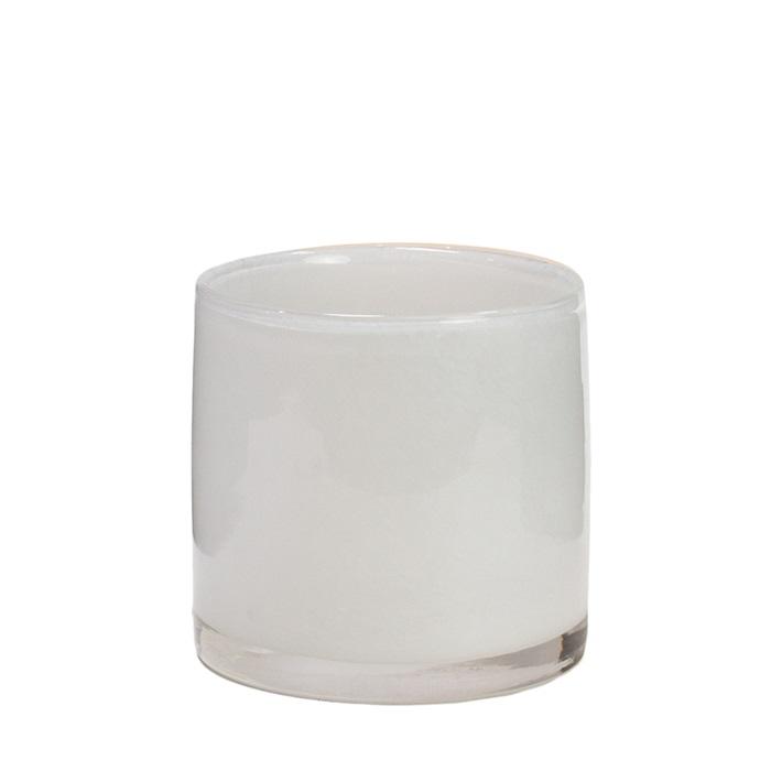 Nilla ljuskopp vit 12 cm