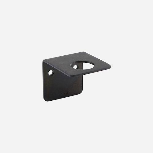 Väggfäste Supply -  Borstad svart finish