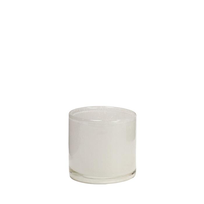 Nilla ljuskopp vit  8 cm