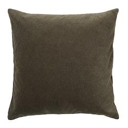 Karl kuddfodral brun 50x50