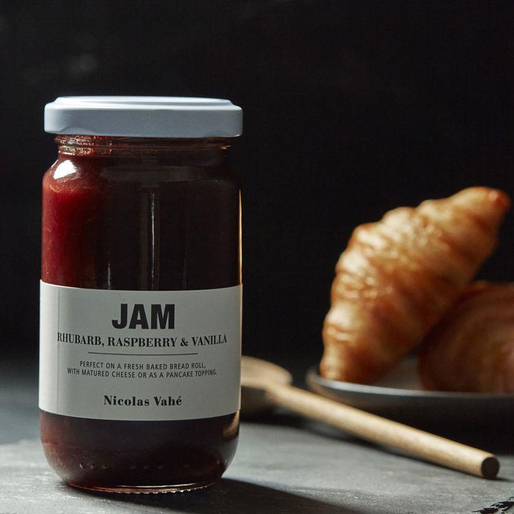 Jam - Rhubarb, Raspberry & Vanilla