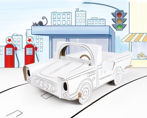 Färglägg din egen bil