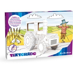 Färglägg din egen traktor
