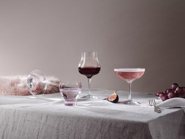 Crystal magic vinglas, clear, 42 cl, Kosta Boda, tumbler 25 cl, coupe 20 cl