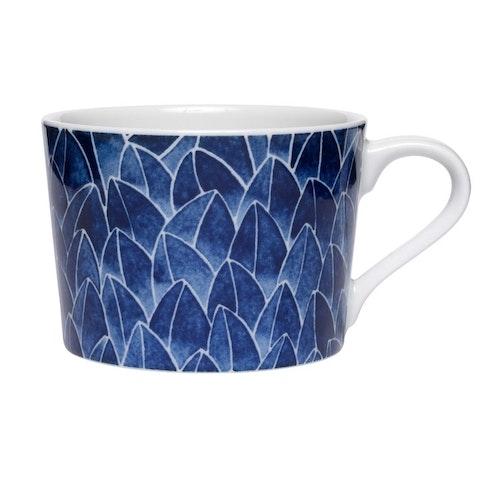 2-pack kopp Field, blå, 24 cl, Götefors Porslin