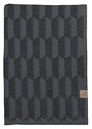 Handduk GEO, 70x133 cm, anthracite, Mette Ditmer