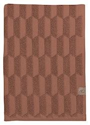 Handduk GEO, 70x133 cm, blush, Mette Ditmer