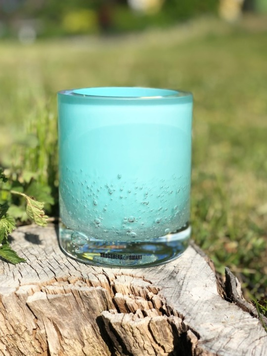 Hurricane Soda aqua, Skogsberg&Smart, ljuslykta, glas
