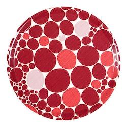 Bubbla bricka, röd, Spira of Sweden