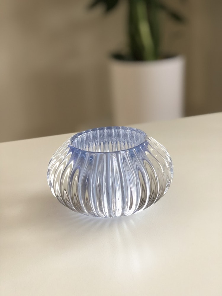 Vega ljuslykta M, ljusblå